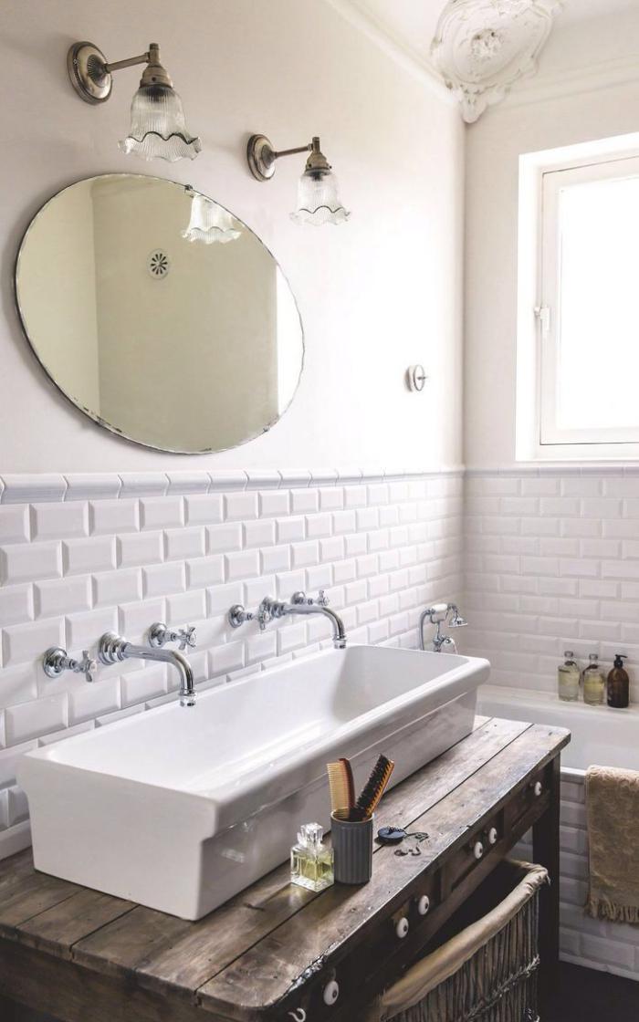 La salle de bain scandinave en 40 photos inspirantes for Renover porte meuble salle de bain