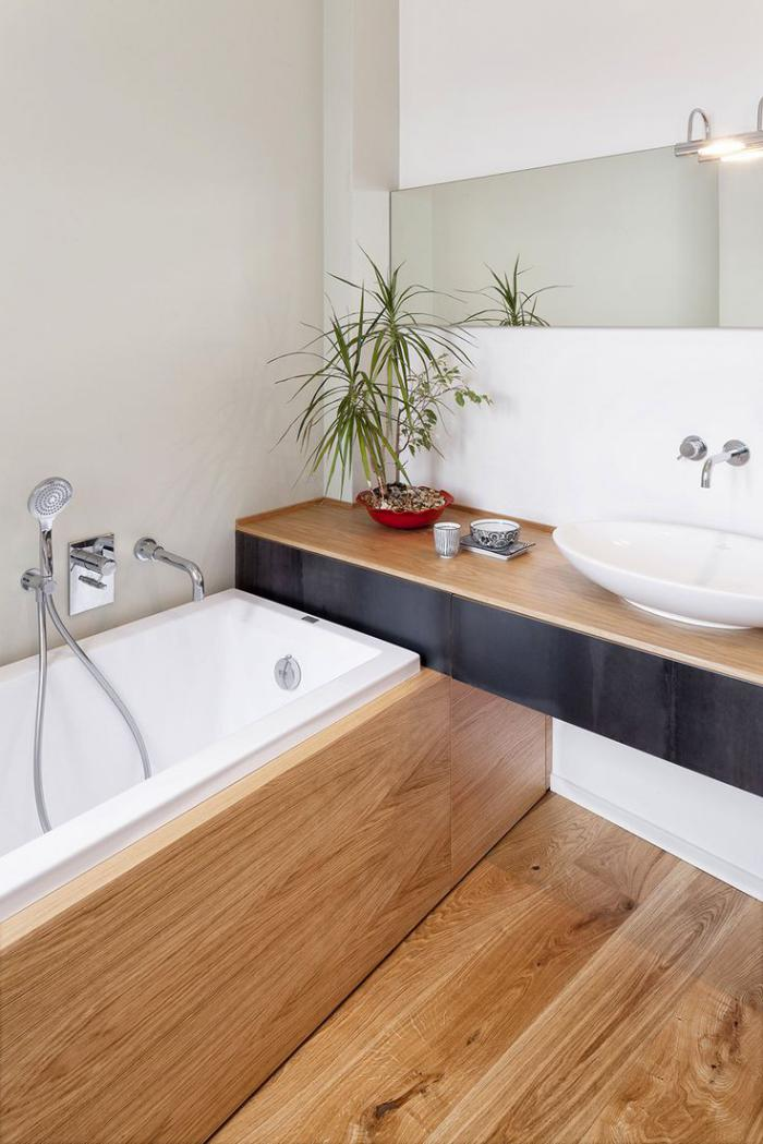 salle de bain scandinave salle deau dco - Salle De Bain Nordique