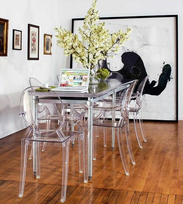 Pourquoi choisir la chaise design transparente - Chaises transparentes fly ...
