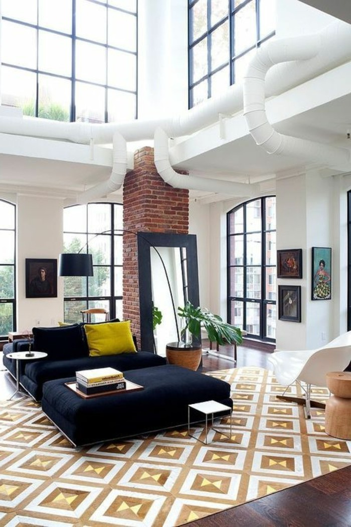 43 id es en photos pour choisir la meilleure carpette. Black Bedroom Furniture Sets. Home Design Ideas