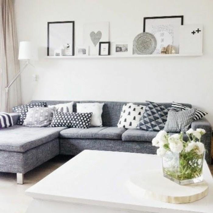 canape convertible gris chine maison design. Black Bedroom Furniture Sets. Home Design Ideas