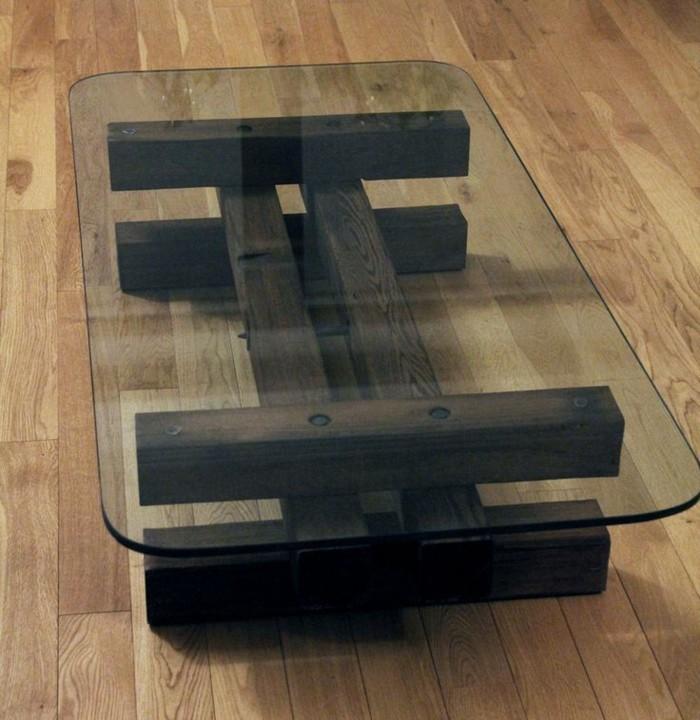 table-basse-bois-et-verre-table-basse-plexi-verre-et-bois-foncé-marron