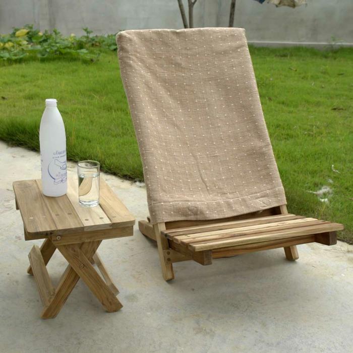 Uniques id es pour la d co avec la chaise pliante for Table de cuisine pliante avec chaises