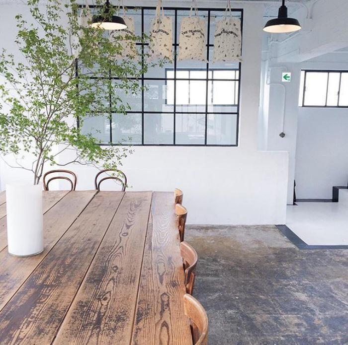 table-rustique-grande-table-en-bois-table-de-déjeuner-rectanle