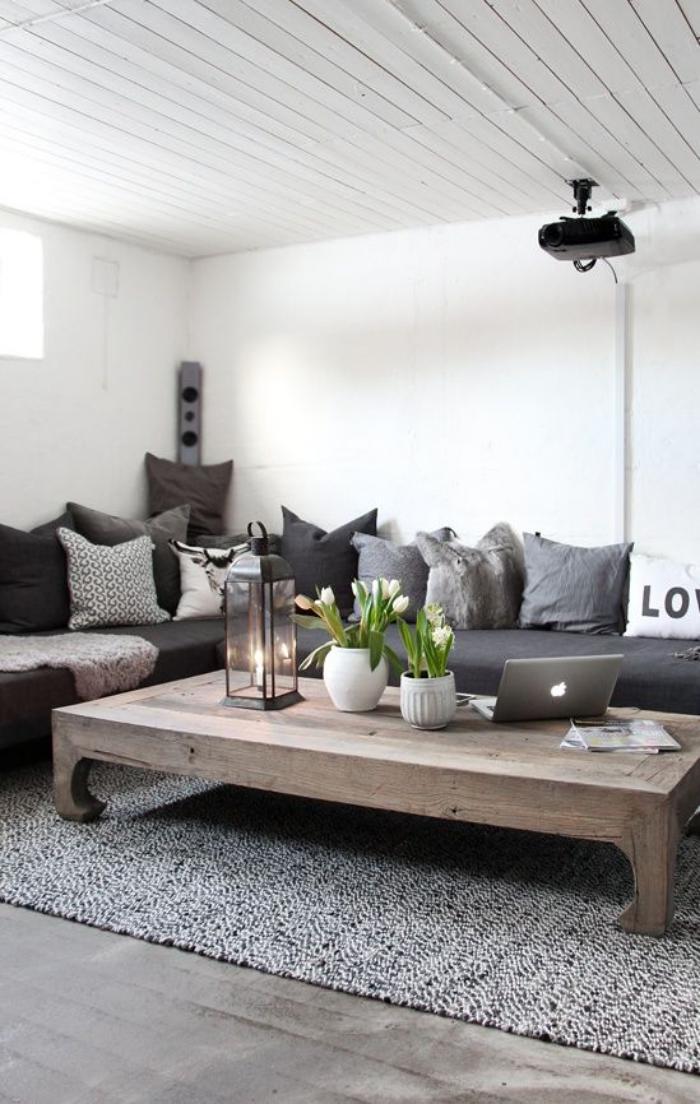 table-rustique-table-en-bois-massif-design