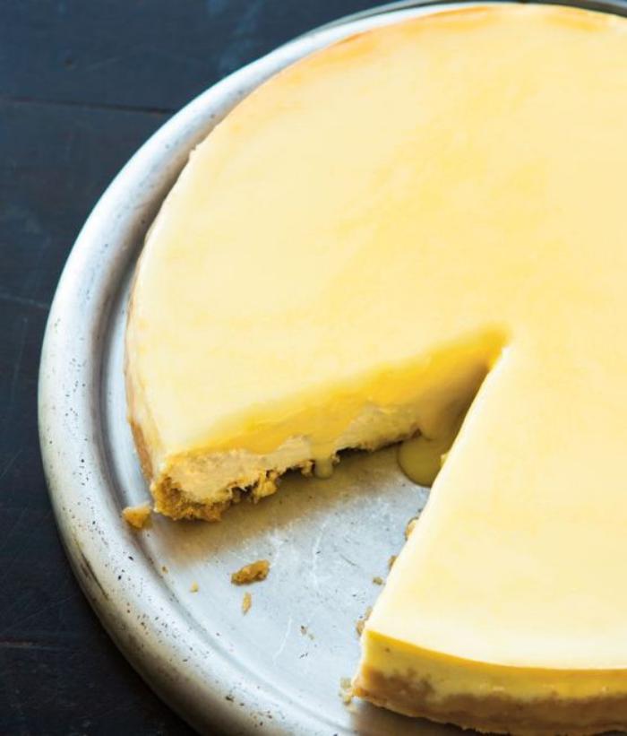tarte-au-fromage-blanc-glaçage-crème-citron
