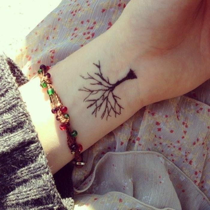 tatouage-poignet-bracelet-tatouage-hirondelle-poignet-arbre