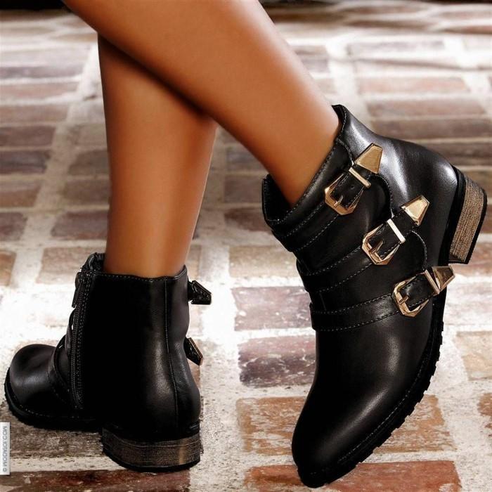 tenue-de-jour-bottine-noire-femme-porter-bottines-femme-noir-belle