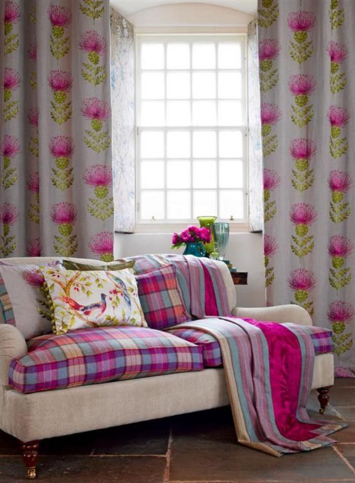 tissi-écossais-housses-de-couette-tartan-rose-décor-coquet