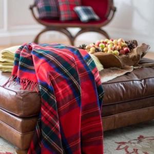 Idées déco avec le tissu écossais classique
