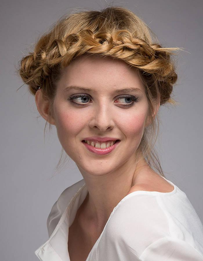 La coiffure tresse couronne diff rents styles - Coiffure tresse couronne ...