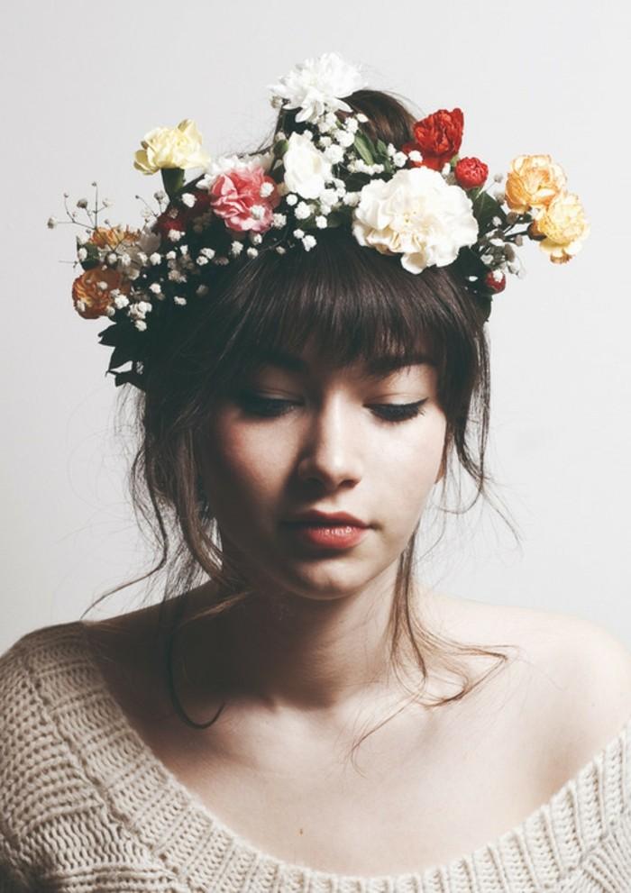 une-coiffure-romantique-chignon-simple-mariee-heusreuse-cool-idée