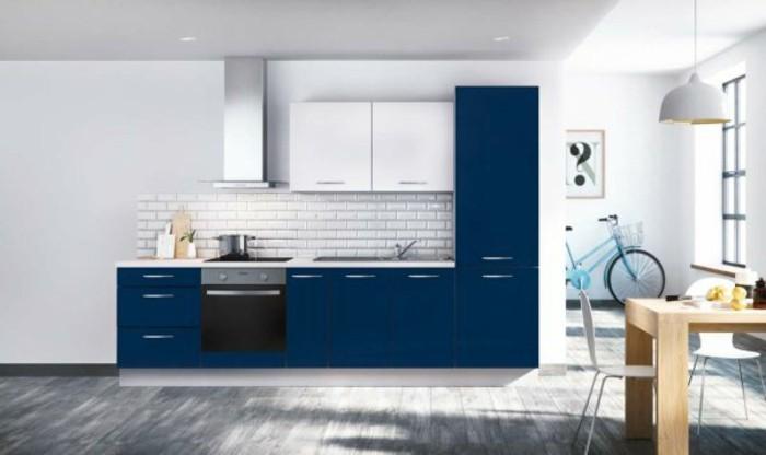 voir-les-idées-crédence-cuisine-castorama-crédence-cuisine-adhésive-bleu