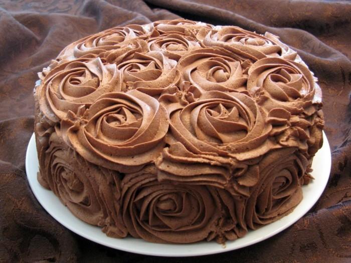 voir-les-images-gâteaux-chocolat-gâteau-banane-chocolat-merveilleux-roses