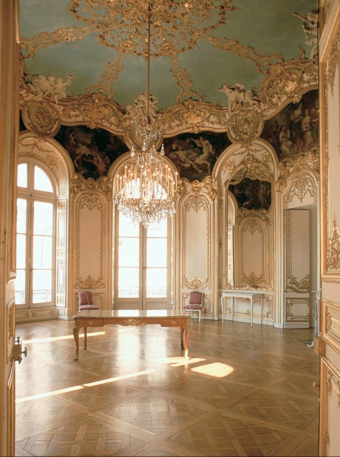 La chambre style baroque nos propositions en photos for Interieur baroque moderne