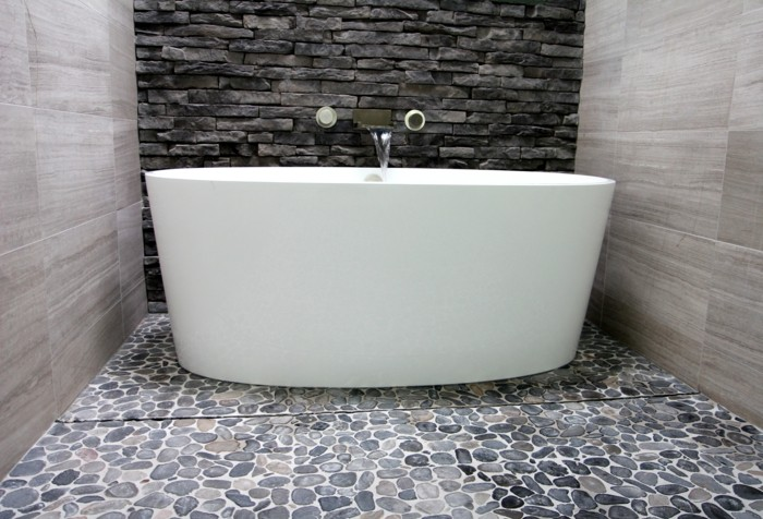 Galet salle de bain blanc 20171001072332 for Salle bain galet