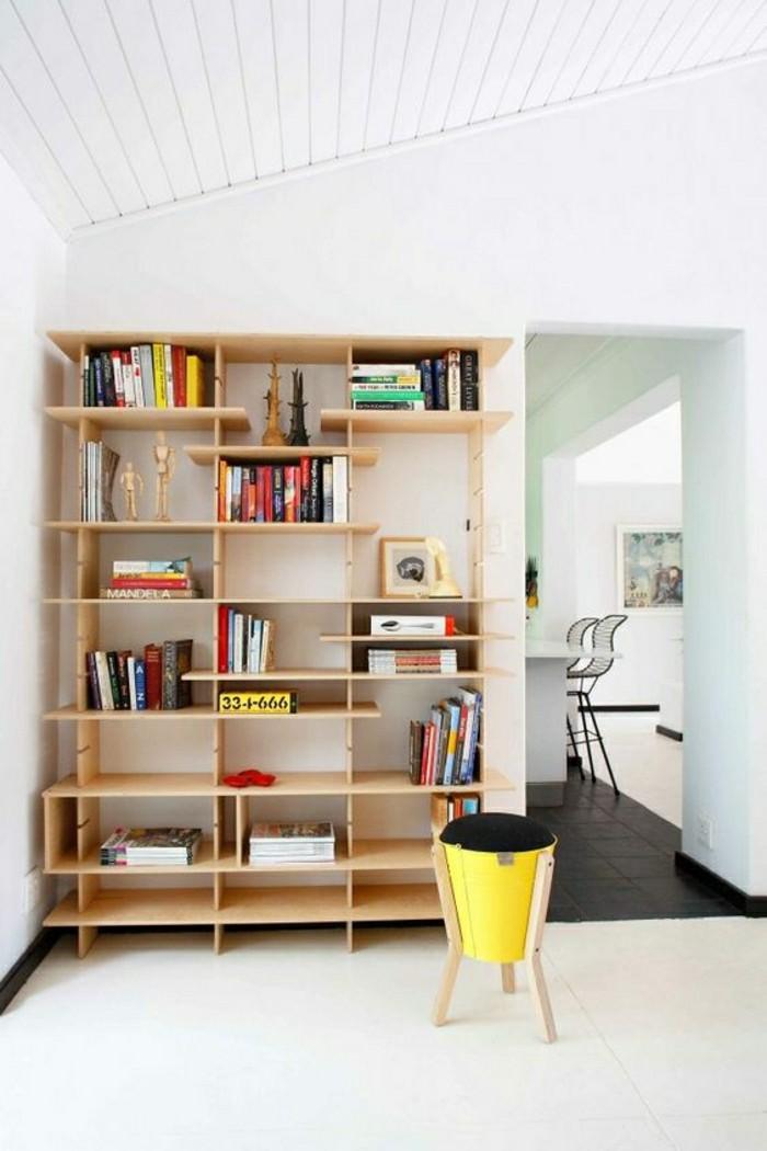 l tag re biblioth que comment choisir le bon design. Black Bedroom Furniture Sets. Home Design Ideas