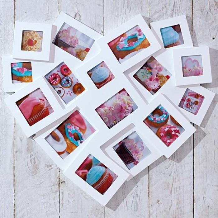 Beaucoup d 39 id es avec un cadre photo multivues et un cadre photo p le m le - Fabriquer cadre tableau ...