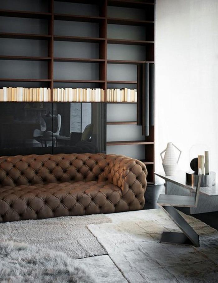 salon cuir marron fonce solutions pour la d233coration