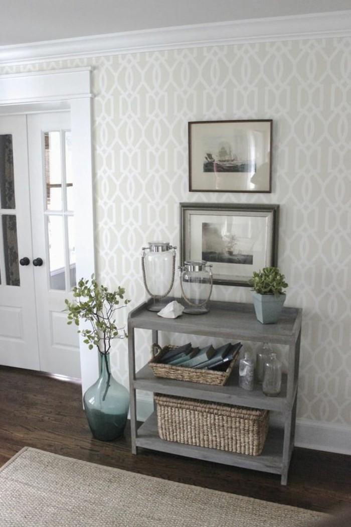 0-idees-papier-peint-pour-couloir-couleur-beige-déco-couloir-étroit-idee-deco-couloir