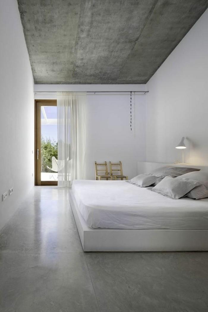 0-jolie-chambre-a-coucher-blanc-gris-béton-décoratif-pour-le-sol-et-les-murs