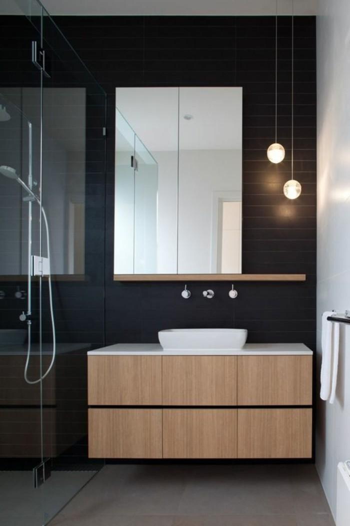 L armoire de toilette quel design choisir et quel mat riau - Comment fixer un miroir de salle de bain ...