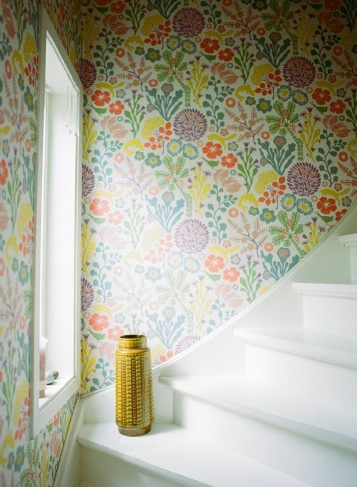 papier peint pour couloir comment faire le bon choix. Black Bedroom Furniture Sets. Home Design Ideas