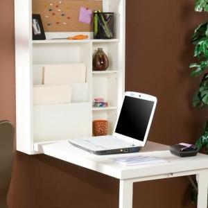 Le bureau pliable est fait pour faciliter votre vie! Voyez nos propositions en 43 photos!