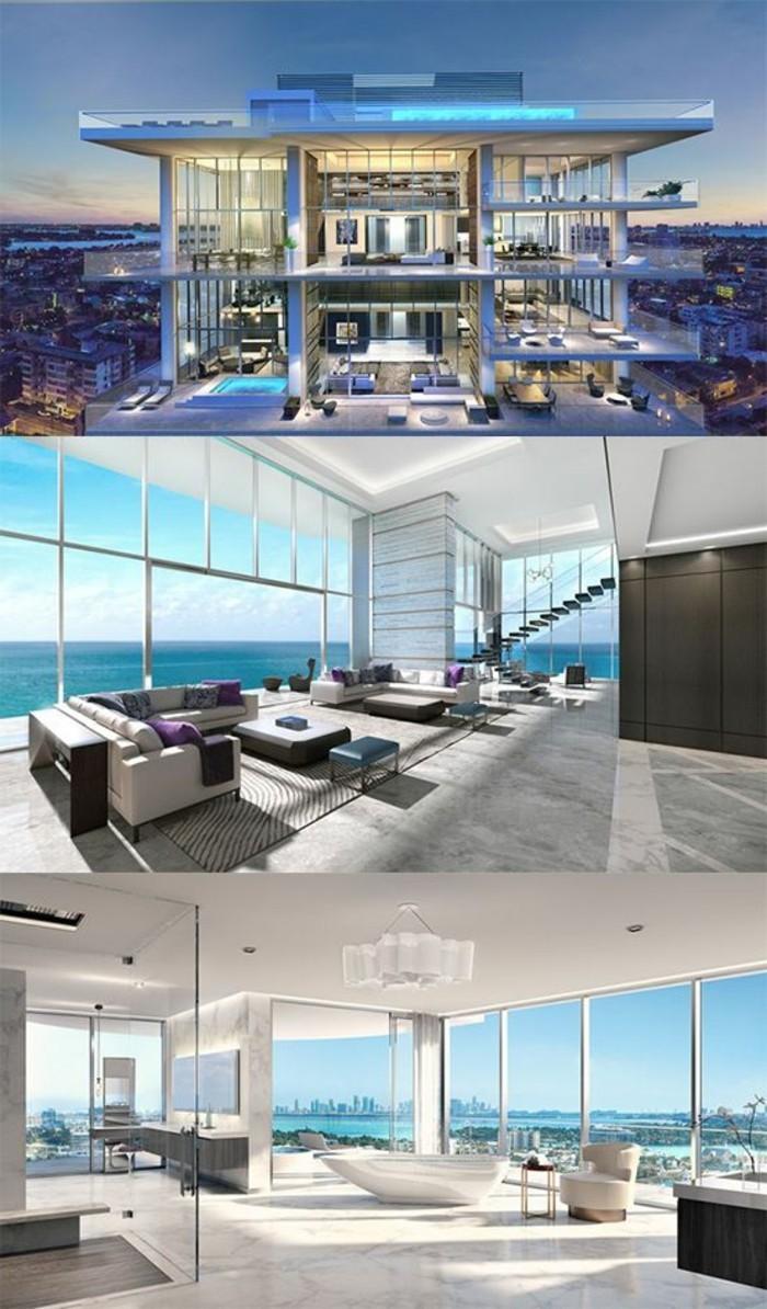 magnifique maison de luxe à miami, les plus belles maisons de luxe