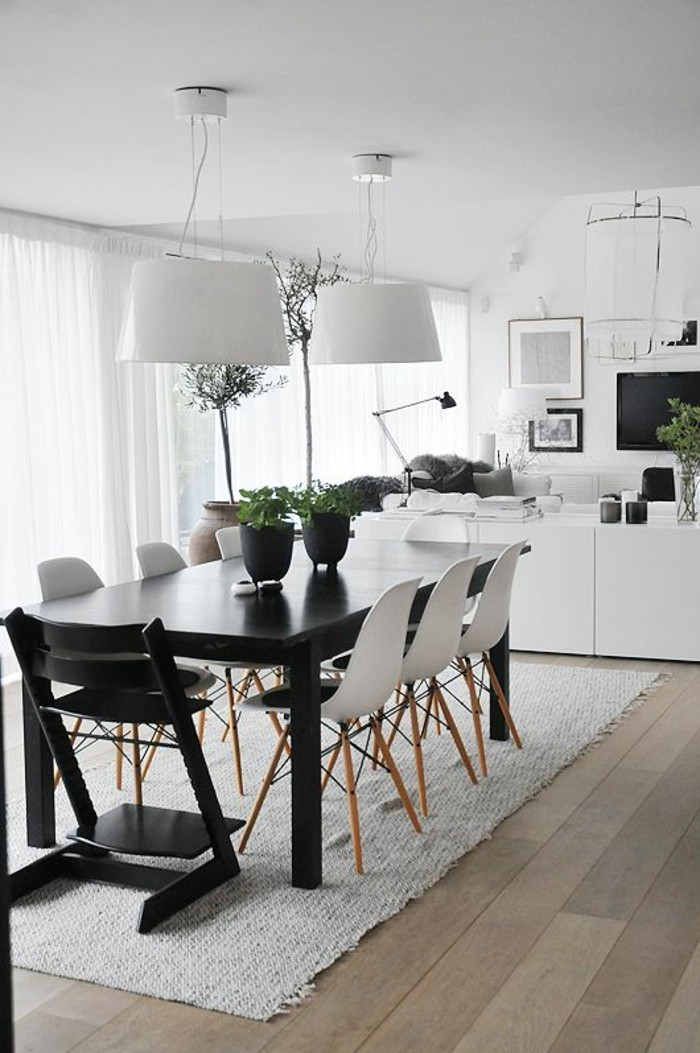 La meilleure table de salle manger design en 42 photos for Table de salle a manger carree design