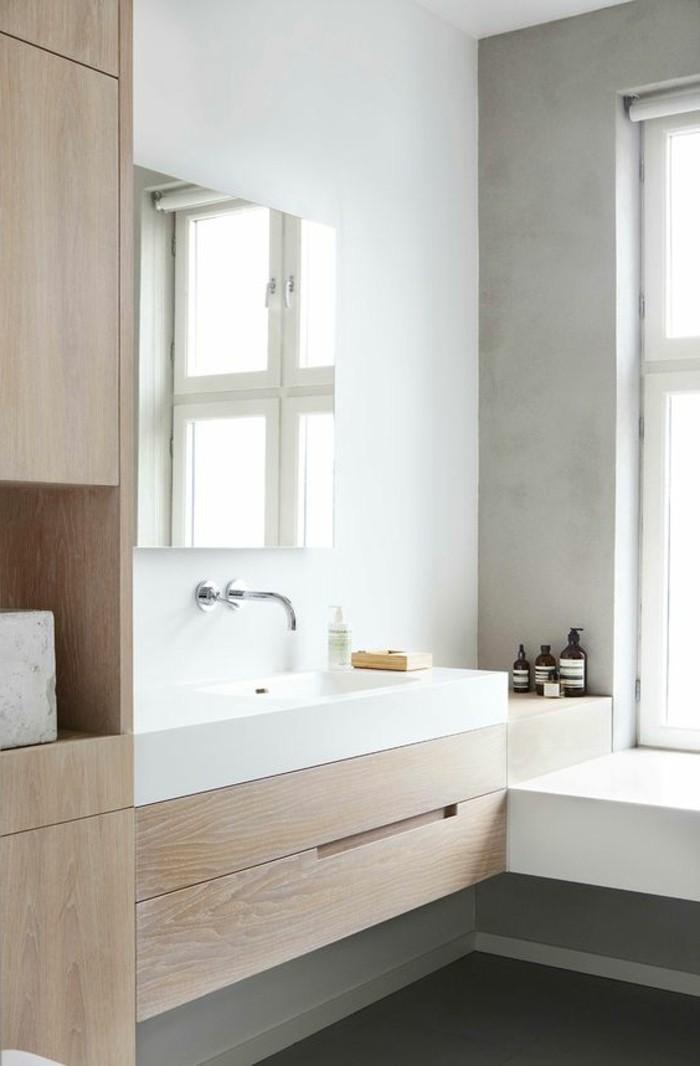 salle de bain armoire de toilette ikea en bois clair salle de bain toilette dans la salle de bain - Toilettes Dans Salle De Bain