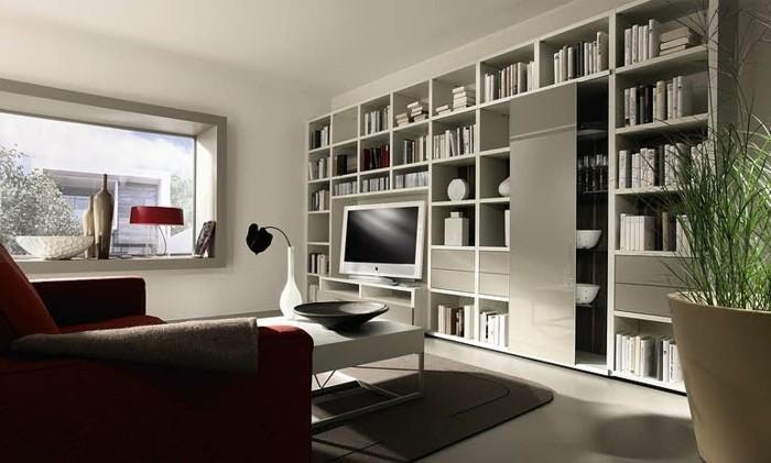 Meuble De Salon En Bois Gris : salon-chic-meubles-en-bois-gris-sol-gris-en-lino-meubles-de-salon