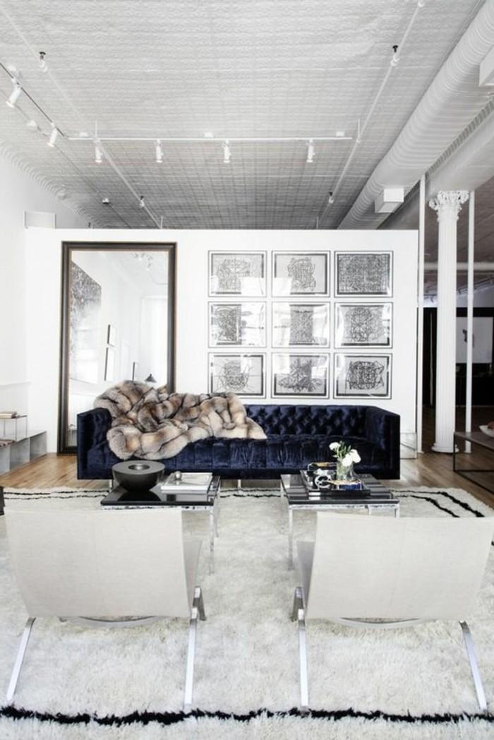 Salon Marron Chic : Le canapé capitonné en photos pleines d idées