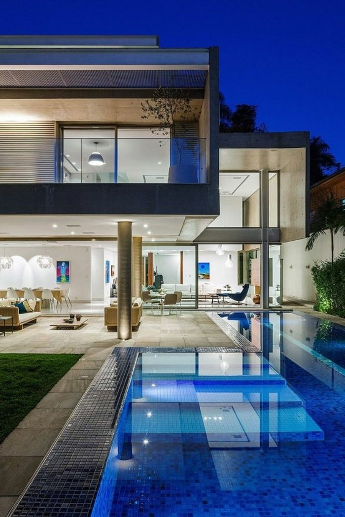 Maison vendre miami on peut s 39 offrir le luxe - Maison contemporaine de luxe ...