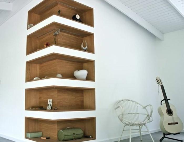 00-jolie-idée-pour-les-étagères-d-angle-en-bois-foncé-sol-en-carrelage-gris-salon
