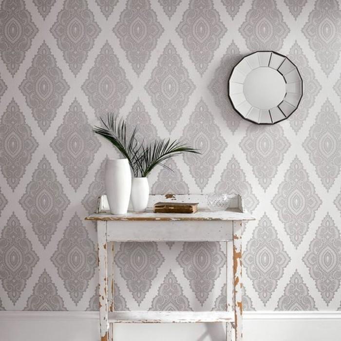 Papier peint pour couloir comment faire le bon choix - Idee tapisserie chambre ...