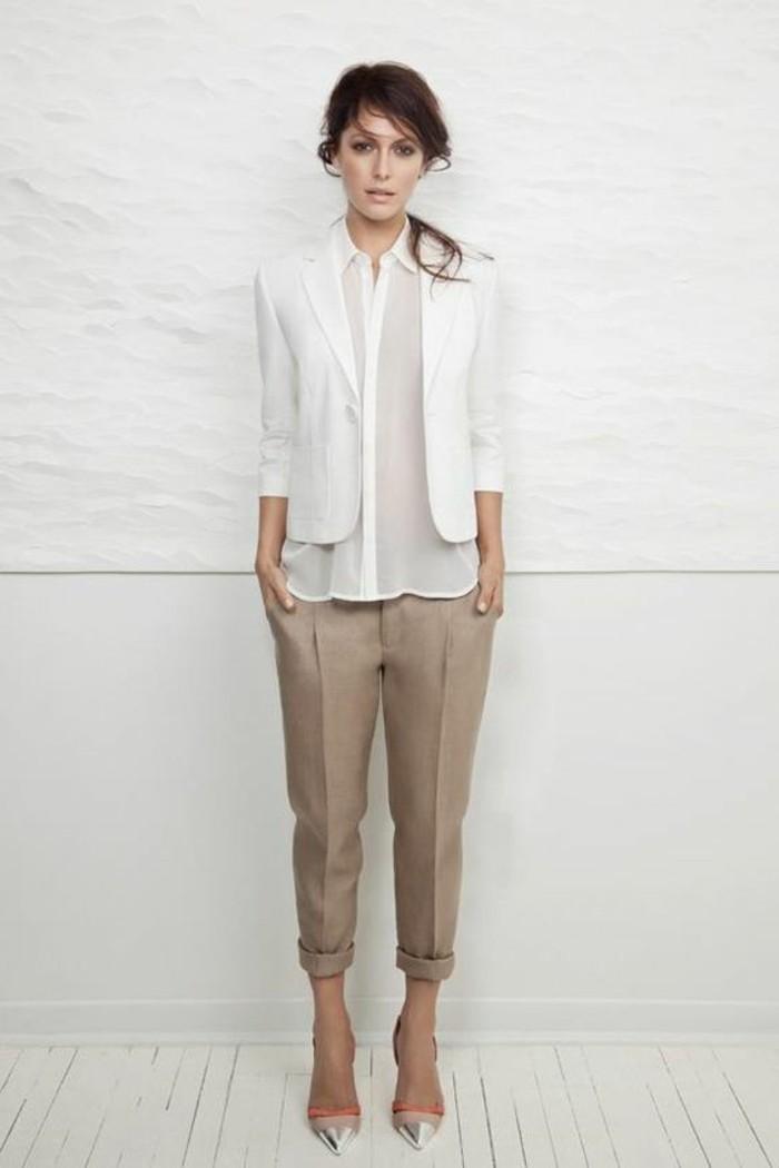 Comment porter le pantalon carotte nos conseils en photos - Comment porter une chemise femme ...