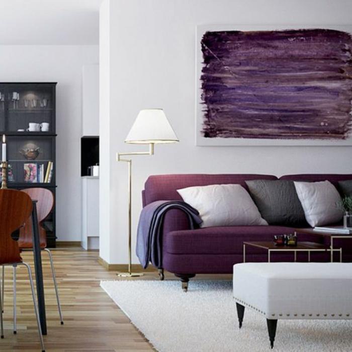 Comment faire de la peinture violette for Peinture violette