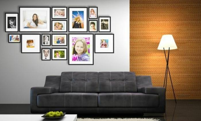 Beaucoup d 39 id es avec un cadre photo multivues et un cadre for Cadre photo pele mele mural