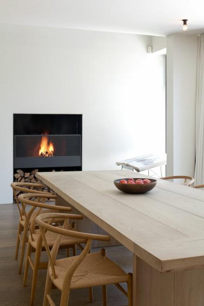 La meilleure table de salle manger design en 42 photos for Salle a manger de luxe en bois