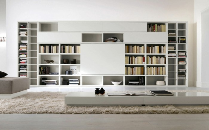 L tag re biblioth que comment choisir le bon design - Bibliotheque contemporaine en bois design ...