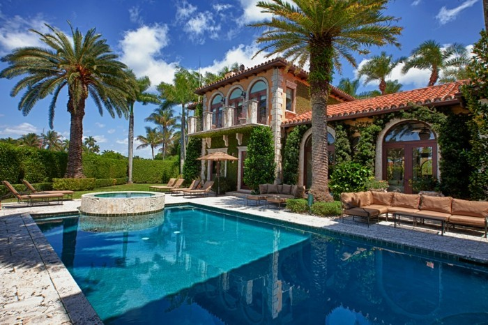 Maison vendre miami on peut s 39 offrir le luxe - Maison de luxe avec piscine ...