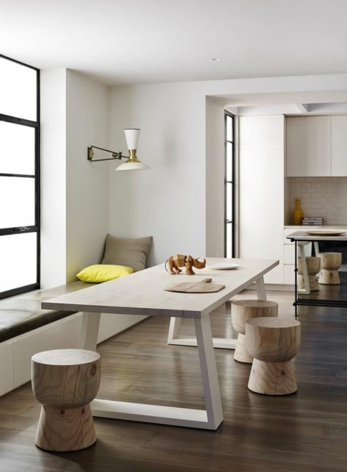 La meilleure table de salle manger design en 42 photos - Table salle a manger style loft ...