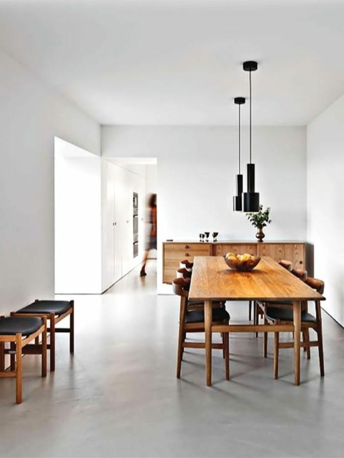 1-salle-de-sejour-blanc-gris-table-en-bois-clair-murs-blancs-plan-de-travail-béton-ciré-béton-décoratif