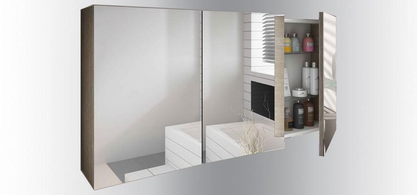 L armoire de toilette quel design choisir et quel mat riau - Armoire de toilette miroir ikea ...