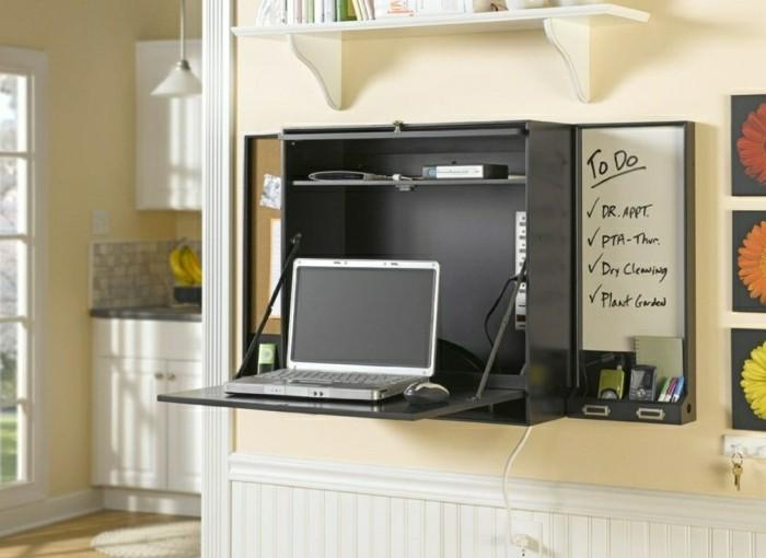 Le bureau pliable est fait pour faciliter votre vie - Table up and down alinea ...
