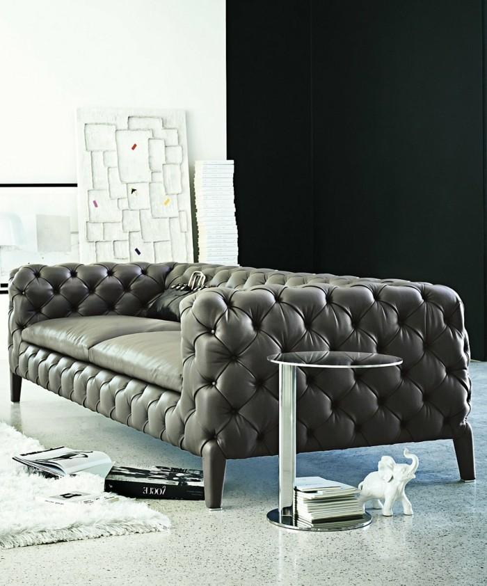 Le canap design italien en 80 photos pour relooker le salon for Coussin pour canape en cuir