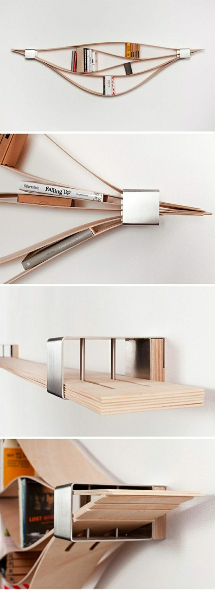 L tag re biblioth que comment choisir le bon design - Etagere en bois design ...