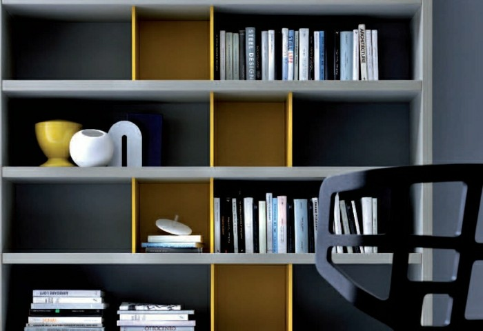 L tag re biblioth que comment choisir le bon design for Etagere murale avec rebord