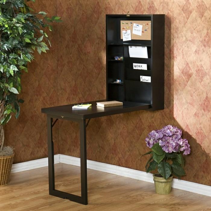 le bureau pliable est fait pour faciliter votre vie. Black Bedroom Furniture Sets. Home Design Ideas